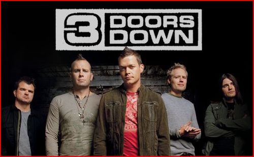 3 Doors Down Show Tickets