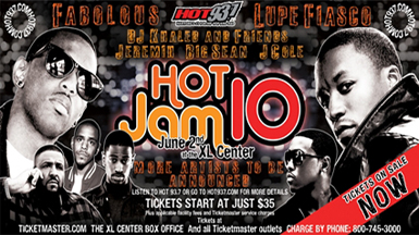 93 7 Hot Jam Xl Center Tickets