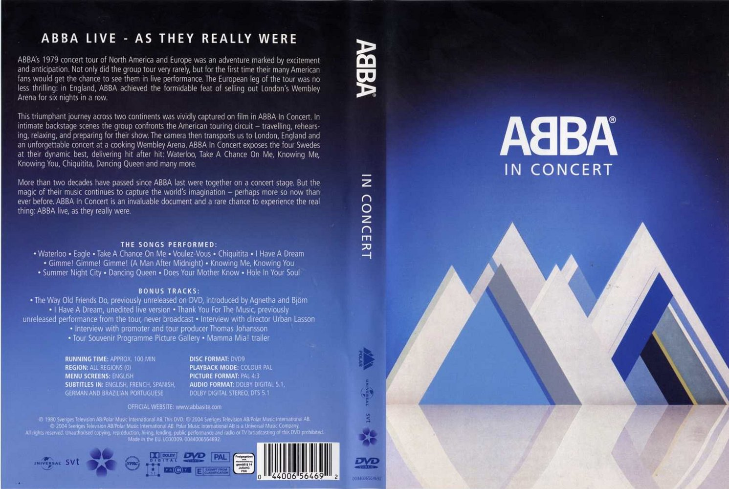 Dates Tour 2011 Abba