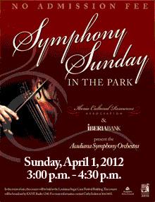 Tickets Acadiana Symphony Orchestra