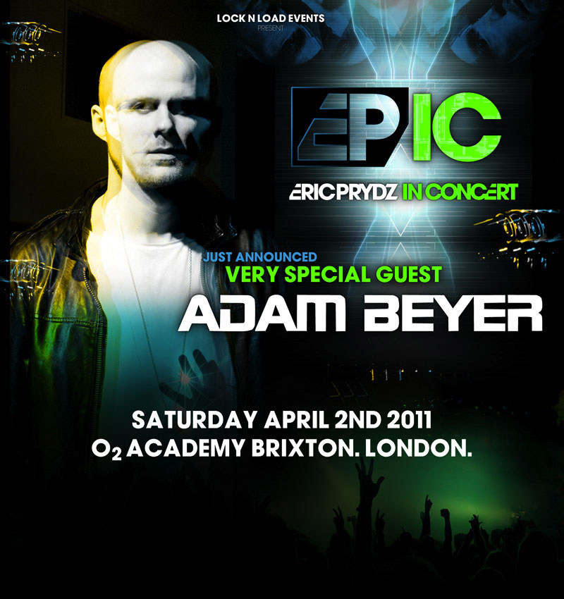 Adam Beyer Concert
