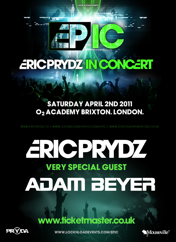 Tour 2011 Dates Adam Beyer