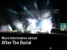 2011 Dates Tour After The Burial