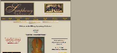 Show Albany Symphony Orchestra Tickets