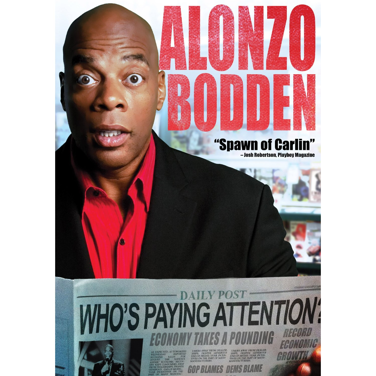 Show Tickets Alonzo Bodden