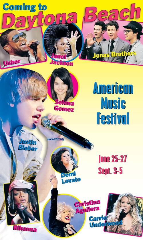 American Music Festival 2011 Tour Dates