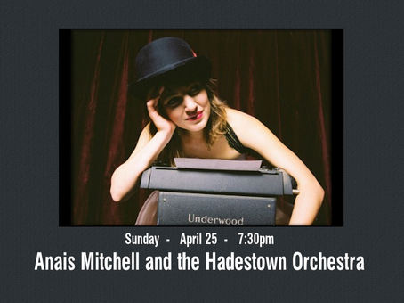 Show Tickets Anais Mitchell