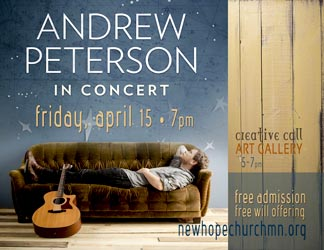 Andrew Peterson Show Tickets