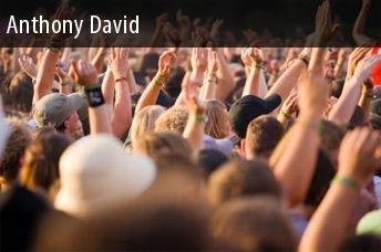 Dates 2011 Anthony David Tour
