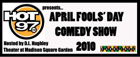April Fools Comedy Show Tickets New York