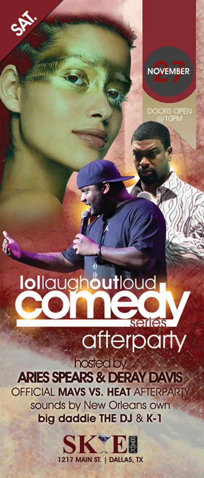 Show Tickets Aries Spears