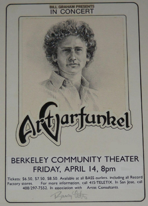 Art Garfunkel Bjcc Concert Hall Tickets