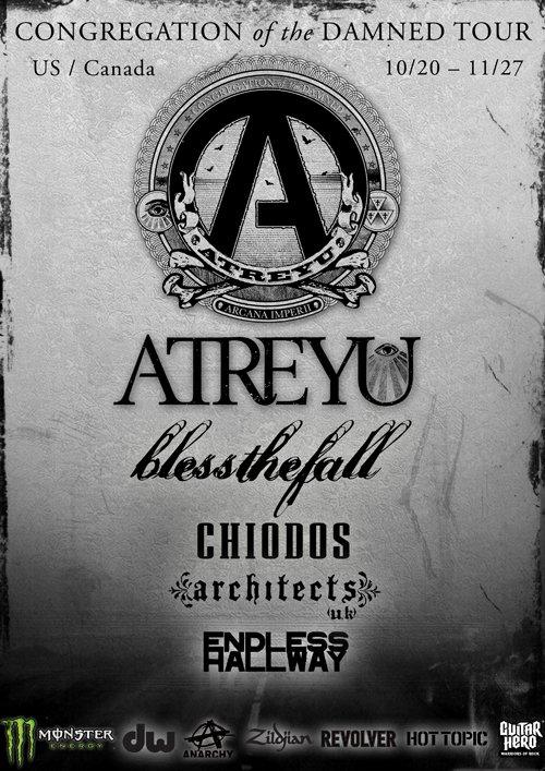 Show Atreyu 2011