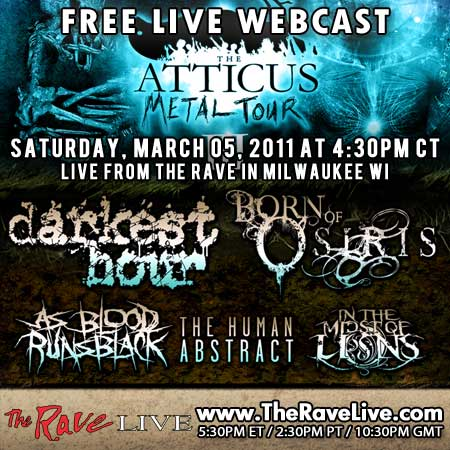 Atticus Metal Tour The Rock Az Tickets