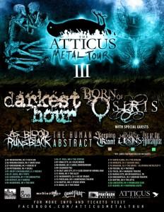 Atticus Metal Tour Tickets Denver