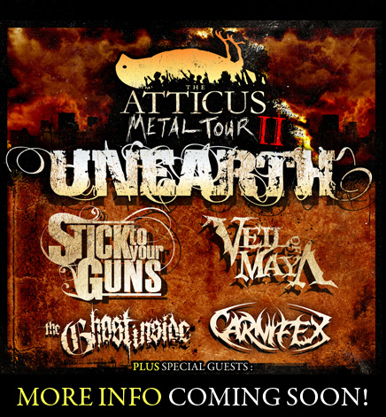 Atticus Metal Tour Tickets The Rock Az