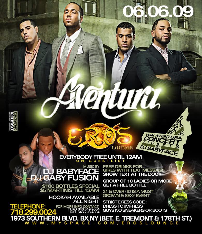 Dates Aventura 2011