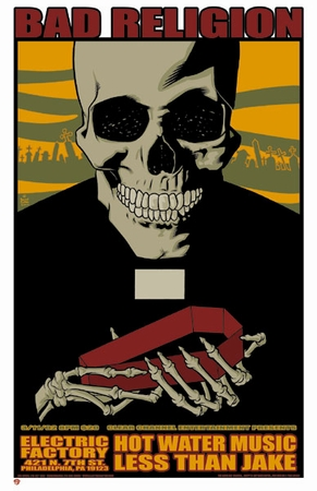 Dates Tour Bad Religion 2011