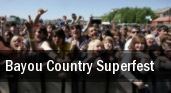 2011 Bayou Country Superfest Dates