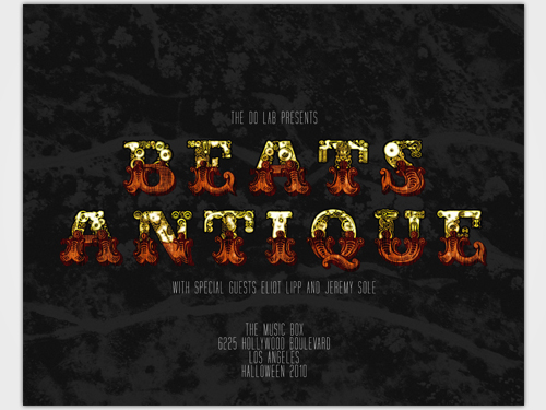 Beats Antique 2011 Dates