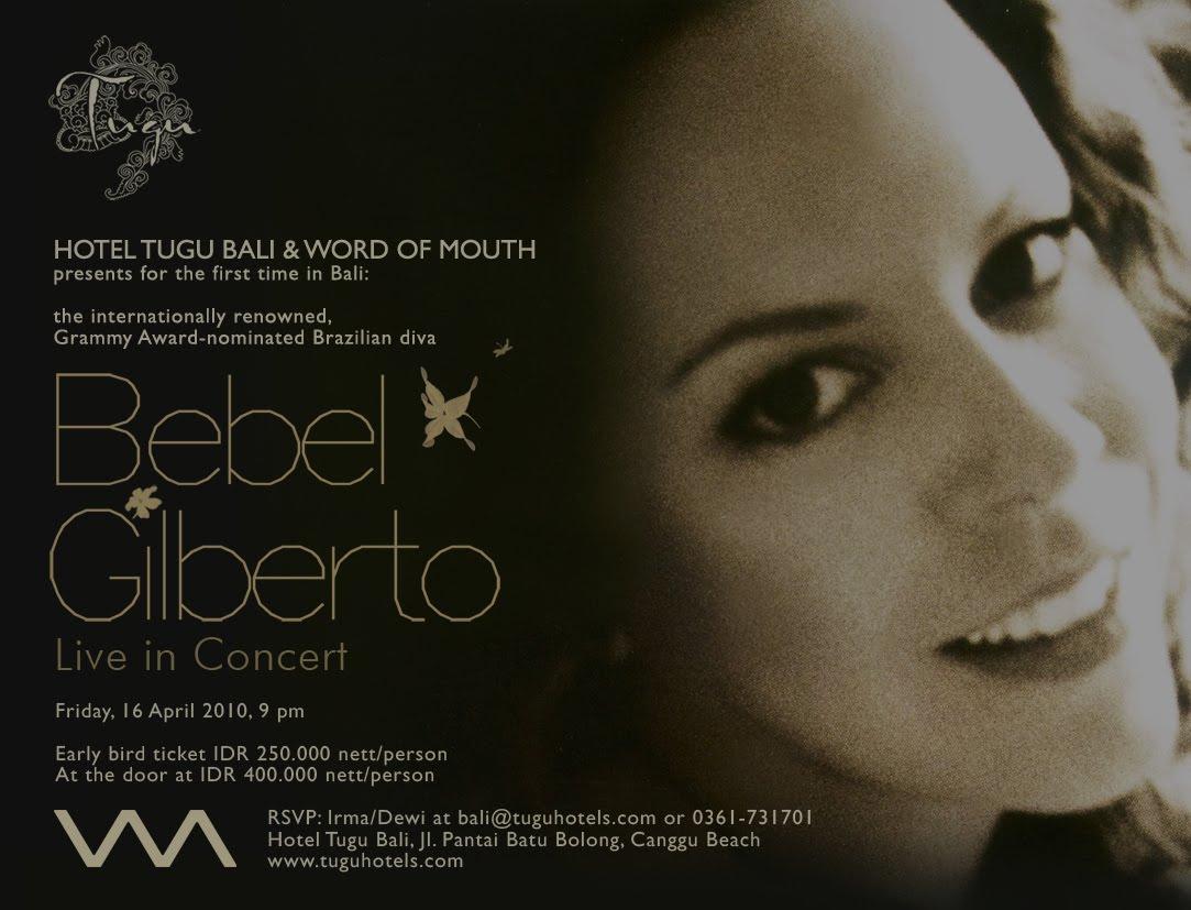 2011 Show Bebel Gilberto