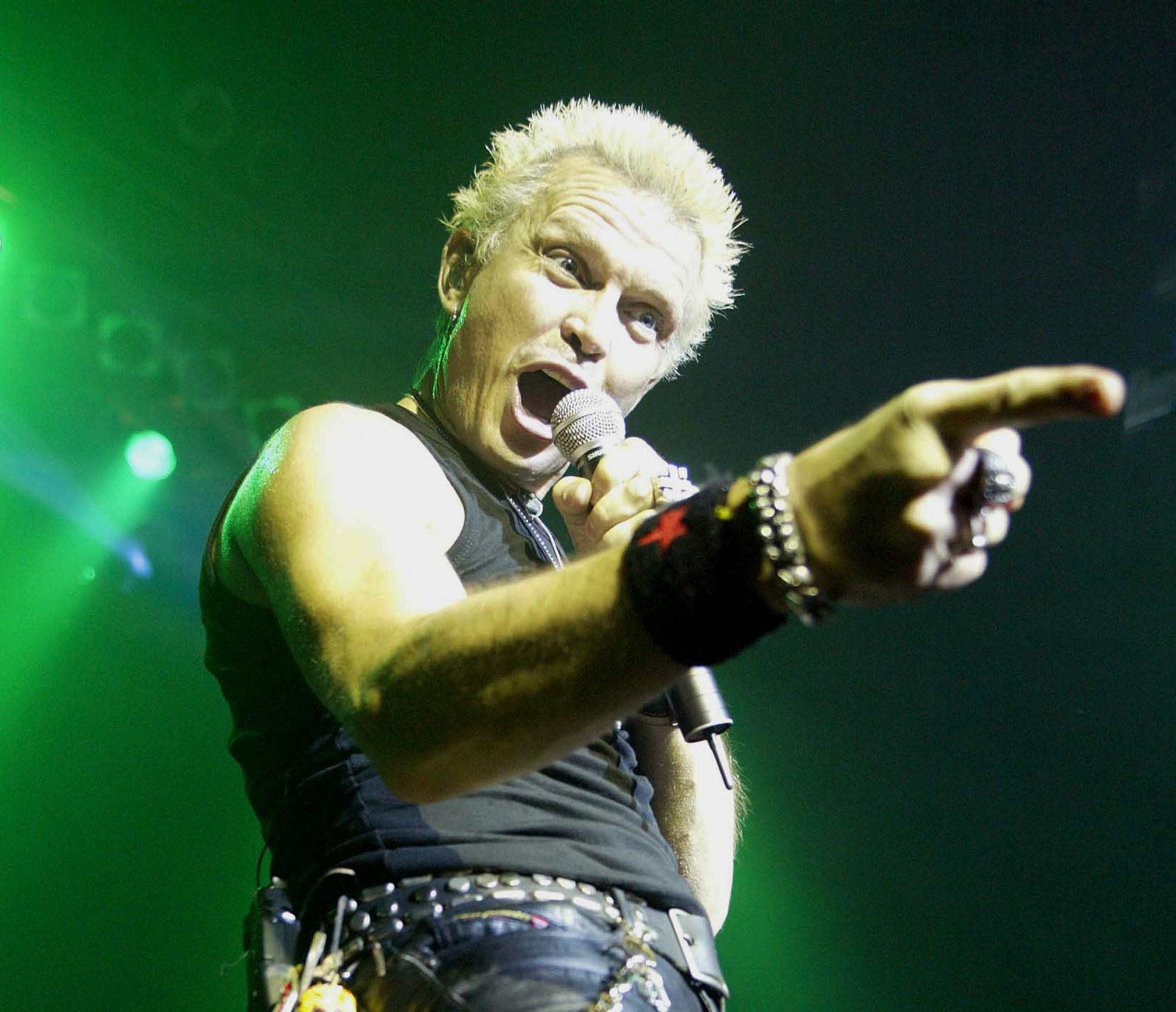 Billy Idol Atlantic City NJ
