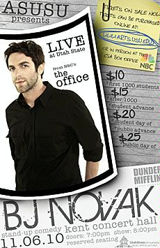 Bj Novak Tickets Show
