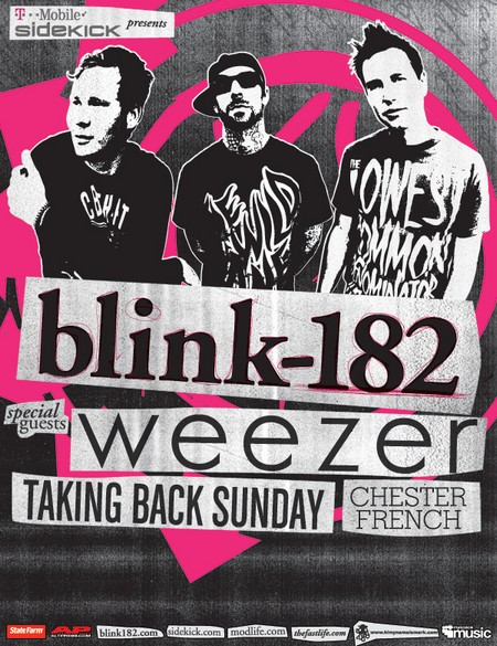 Blink 182 Show 2011