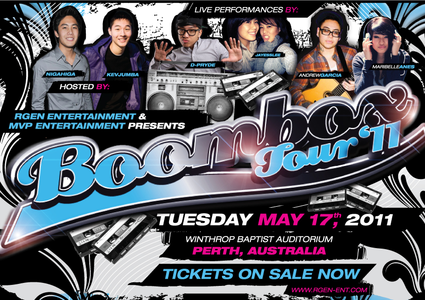 Boombox Mojos Tickets