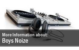 Boys Noize The Warehouse Project Tickets