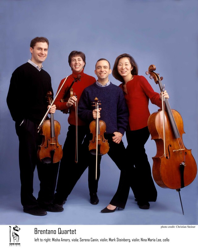 2011 Dates Brentano String Quartet