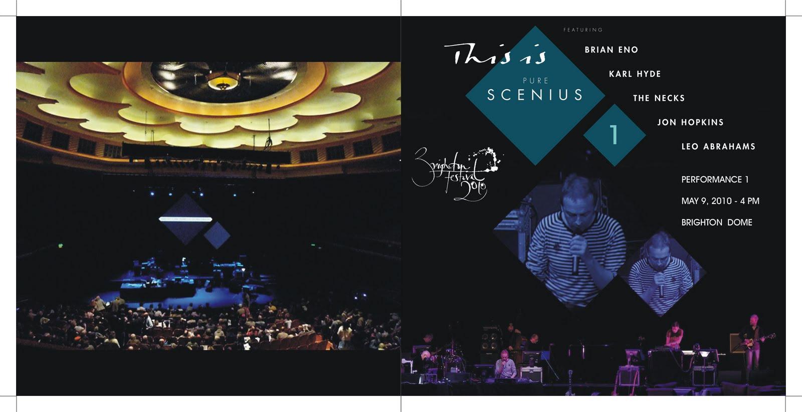 Tickets Brian Eno