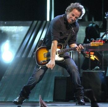 Bruce Springsteen Key Arena