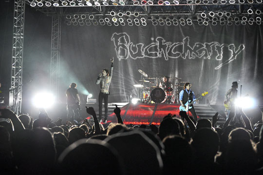 Buckcherry Concert