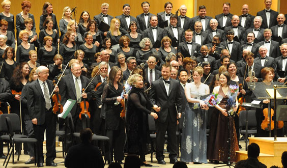 Buffalo Philharmonic Orchestra Tour 2011 Dates