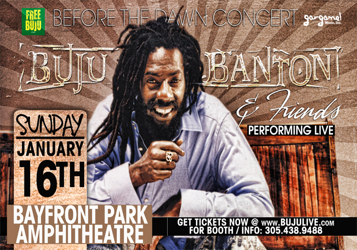 2011 Buju Banton Tour Dates