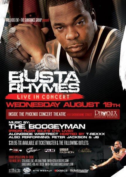 2011 Busta Rhymes Show