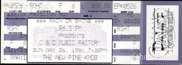 2011 Tour Dates C C Music Factory