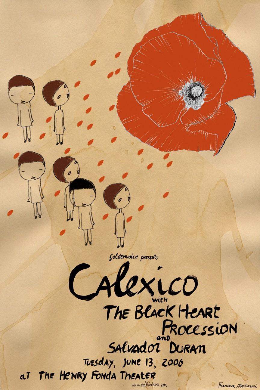 Dates Calexico 2011