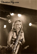 Candy Dulfer Rams Head On Stage