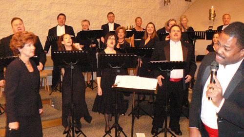 Carolyn Eynon Singers 2011