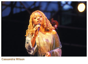 Cassandra Wilson Dimitrious Jazz Alley