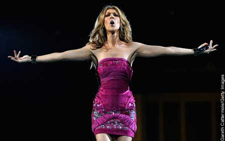 Celine Dion Boston