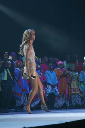 Dates Celine Dion Tour 2011