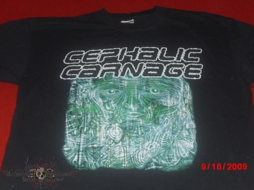 Cephalic Carnage Denver CO