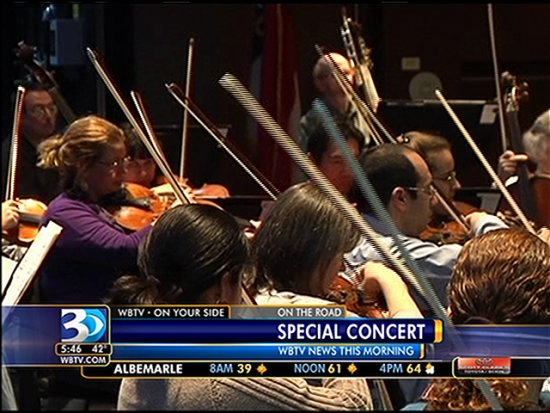 Charlotte Symphony Belk Theatre At Blumenthal Performing Arts Center Tickets