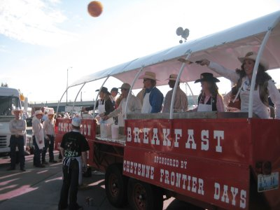 2011 Dates Cheyenne Frontier Days