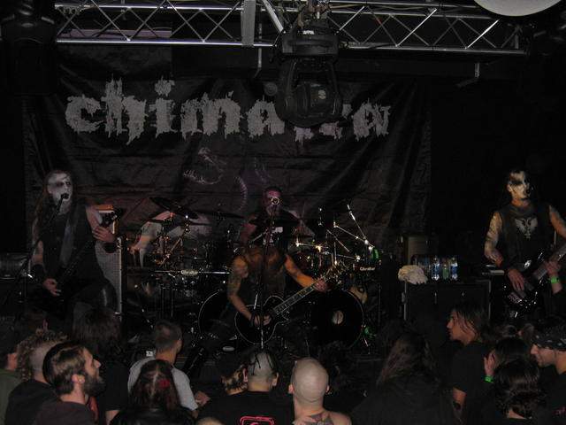Chimaira Majestic Theatre Madison