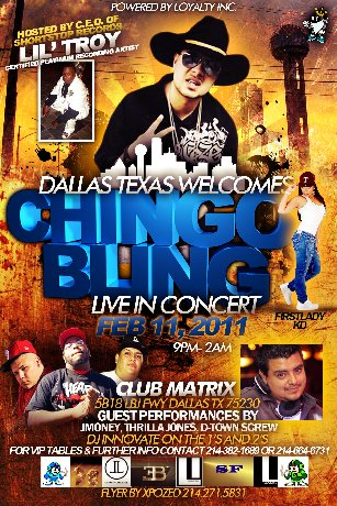Chingo Bling Concert