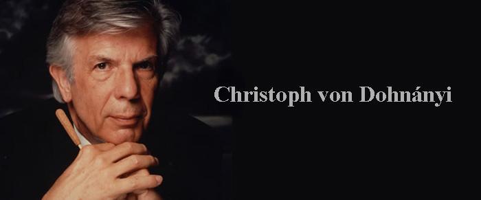 Christoph Von Dohnanyi Concert
